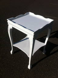 Shabby Chic Ball n Claw Square End Table
