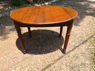 Antique Oval Maple Table