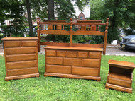 4pc Solid Maple King Bedroom Set