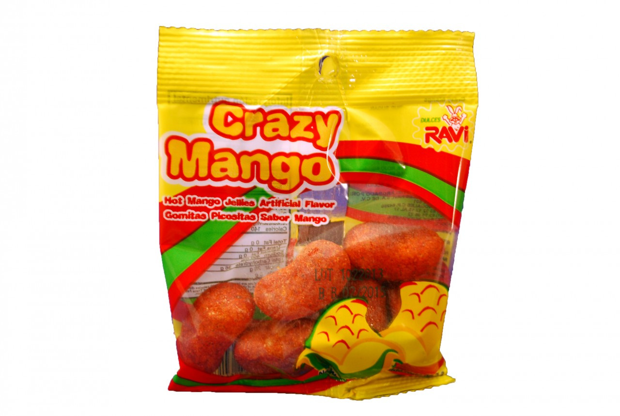 Ravi Crazy Mango 12-Piece pack count - My Mexican Candy