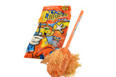 Mexican Candy: Anahuac Chipileta. A delicious watermelon flavor lollipop and hot candy powder. One of the traditional combinations of Mexican candies: hot and sweet…acidulated. Chipileta is ideal for parties and pinatas. Chili powder is made from a single variety of dried ground chile (chile en polvo).