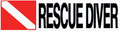 "Scuba Diving Bumper Decal Sticker ""Rescue Diver"""