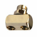 "Adapter Splitter Hose Male Regulator to Female 3/8"" x2 LP Hose"