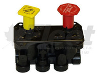 065186-G - DASH VALVE (3) W/THREADED PLATE