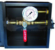 RA014G - DUMP BOX W/BALL VALVE & GAUGE