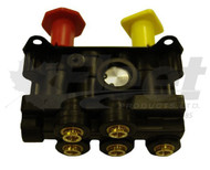 "800257-G - DASH VALVE (3) WITH 3/8"" PUSH-IN FITTINGS"