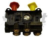 "800259-G - DASH VALVE (3) WITH 3/8"" PUSH-IN FITTINGS"