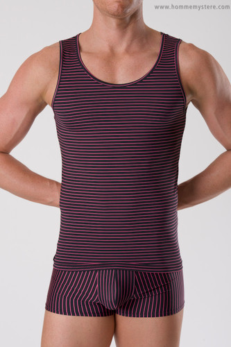 pinstripe singlet shown here with our PinStripe Boyshort
