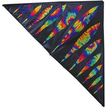 6.5' Delta Kite, Rainbow Bullets