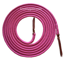 Mecate Reins natural horsemanship yacht braid double braid MFP over Polyester rope