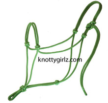 Natural Horsemanship premium yacht braid double braid polyester rope halter