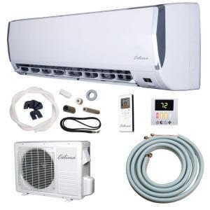 Celiera 35gwx ductless mini split ac heat pump ac world for 110 volt window ac units