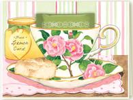 Camellia Teacup Card