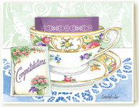 301 Congratulations Teacup Card