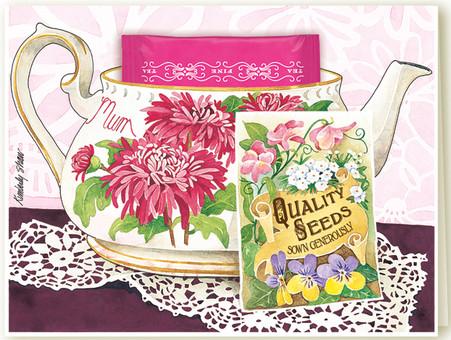 341 Mum Teacup Card