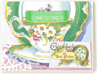 388 Good Luck Teacup Card