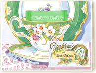 388 Good Luck Teacup Card