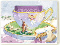 337 Nativity Teacup Card