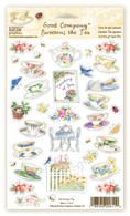 611 Garden Tea Stickers