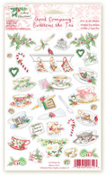 612 Holiday Tea Stickers