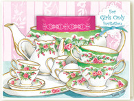 36-377 Girls Only Tea Party Invitation