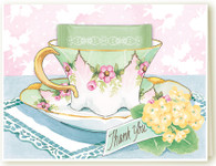 Thank You Teacup Card