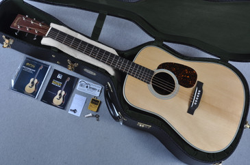 2015 Martin D-28 Authentic 1937 VTS Adirondack Madagascar Acoustic Guitar #1938322 - Case