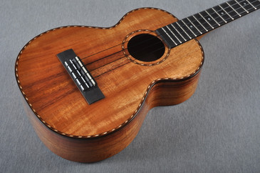 Kamaka 100th Anniversary Long Neck Tenor Deluxe Uke HF-3LD - 160316 - Top View