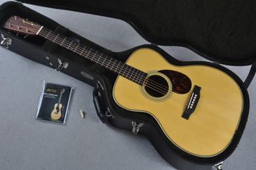 Martin Custom Shop OM-28 Adirondack Cocobolo Acoustic Guitar #1896456 - Case