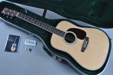 "Martin Custom Shop HD-35 1 3/4"" Nut Acoustic Guitar #1924260 - Case View"