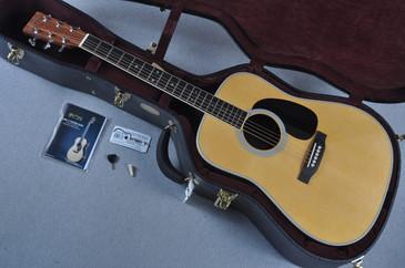 "Martin Custom Shop D-35 Honduran Rosewood 1 3/4"" Nut Acoustic Guitar #1875727 - Case View"