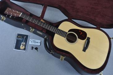 Martin Custom Shop D-18 Adirondack Spruce Acoustic Guitar #1949716 - Case