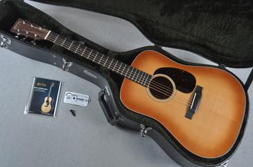 Martin Custom Shop D-18 VTS Sitka Spruce Toasted Burst Acoustic Guitar #1924274 - Case
