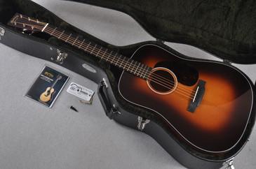 Martin Custom Shop D-18 Thin Finish Full Thickness Neck Sunburst Acoustic Guitar #1900926 - Case