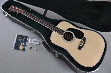 "Martin Custom Shop D-35 Adirondack 1 3/4"" Nut Acoustic Guitar #1924261 - Case"