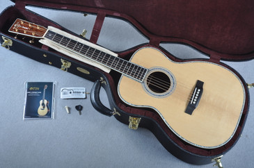 Martin Custom Shop 00-42 VTS Adirondack Guatemalan Acoustic Guitar #1952115 - Case