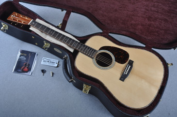 Custom Shop D-42 VTS Adirondack Guatemalan Acoustic Guitar #1952118 - Case