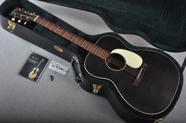 Martin 000-17 Black Smoke Acoustic Guitar #1962927 - Case