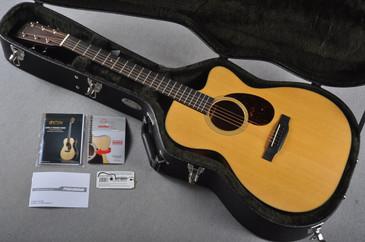 Martin OMC-18E Fishman Aura VT Enhance Acoustic Electric #1963672 - Case