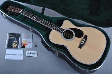 Martin OMC-35E Fishman Aura VT Enhance Acoustic Electric #1961445 - Case
