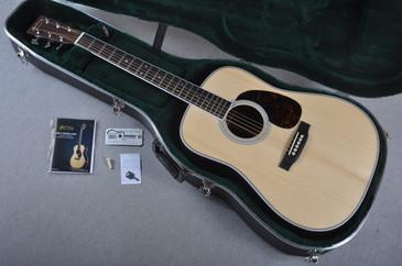 "2016 Martin Custom Shop HD-35 Adirondack 1 3/4"" Nut Acoustic Guitar #1924259 - Case"