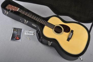 2016 Martin Custom Shop OM-28 High Altitude Swiss Spruce Acoustic Guitar #1990769 - Case
