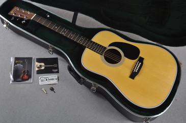 2016 Martin Custom Shop D-28 Swiss Spruce #1992950 - Case