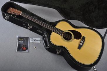 2016 Martin Custom Shop OM-28 Adirondack Spruce Acoustic Guitar #1990770 - Case