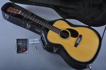 2016 Martin Custom Shop OM-28 Guatemalan Acoustic Guitar #2021533 - Case