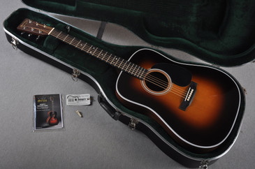 2016 Martin D-28 Standard 1935 Sunburst Dreadnought Acoustic Guitar #1991437 = Case