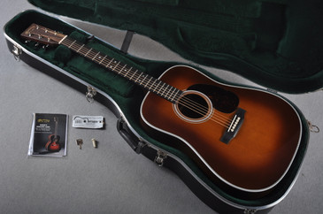 2016 Martin HD-28 Ambertone Acoustic Guitar #1972091 - Case