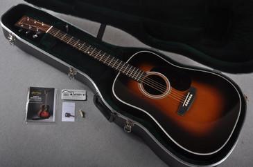 2016 Martin HD-28 1935 Sunburst Acoustic Guitar #2010099 - Case
