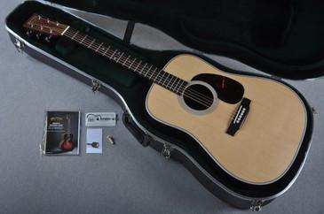 2016 Martin HD-28 Natural Acoustic Guitar #1986826 - Case