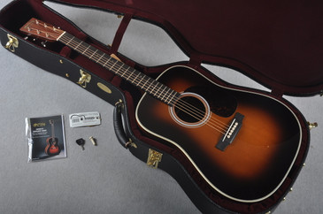 2016 Martin Custom Shop HD-28V Guatemalan Rosewood 1935 Sunburst #2021544 - Case